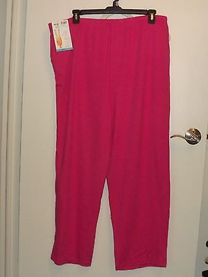 Ladies Pink Casual Pants By White Stag Size Xxl 2X 20 Nwt
