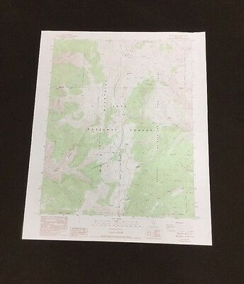 USGS- Blanco Mountain Quadrangle- California- TOPO Map