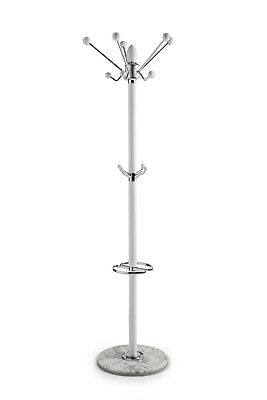 NEW Marble Base Modern Coat Stand