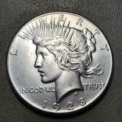 1928  Peace  Dollar   Key Date  Of The Series  #6701