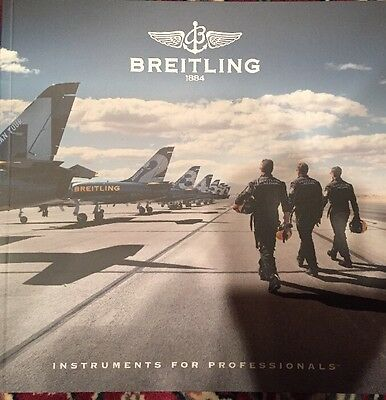 New 2017 Breitling Watch Catalogue Brochure