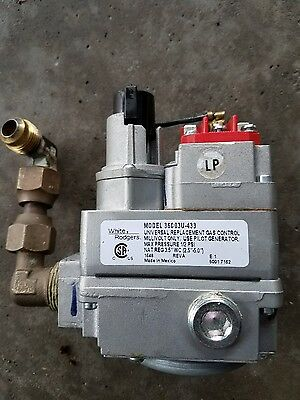 36C03-433 White-Rodgers  Gas Heating Furnace Control Valve 24V
