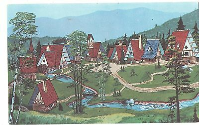 Whiteface, NY, Birds Eye of Santa's Village, North Pole