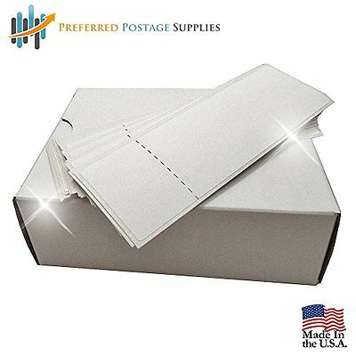 "Meter Tape 4.875"" x 1.6875"" For Postalia Ultimail (500 Tapes) Postage Supplies"