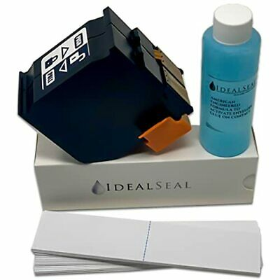 OEM Quality Compatible Red Ink Cartridge For Neopost ISINK34 +1 Pack of Labels