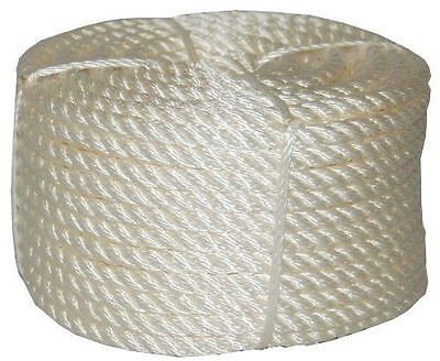 T.W. Evans Cordage 32-066 3/4 in. x 100 ft. Twisted Nylon Rope Coilette