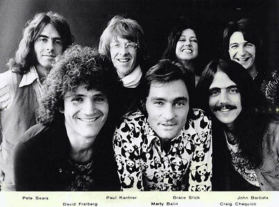 Jefferson Starship   1976   8X10 Photo #287