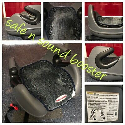 Safe n Sound Booster (no back) Hard to Find Excellent Condition (can Post)