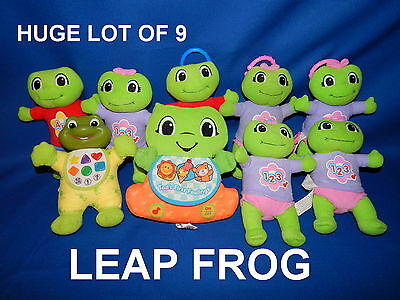 Lot Of 9 LEAP FROG Infant Toddler Talking Music Learning Toys