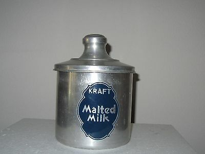 Kraft Malted  Milk Containerwith Lid