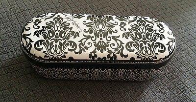 Brighton Black and White Large Tin Sunglasses Case Only