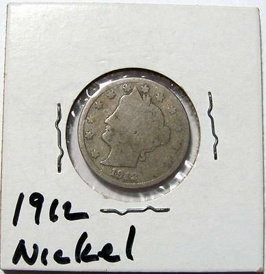 Vintage Coin Auction 1912 Liberty V Nickel D005
