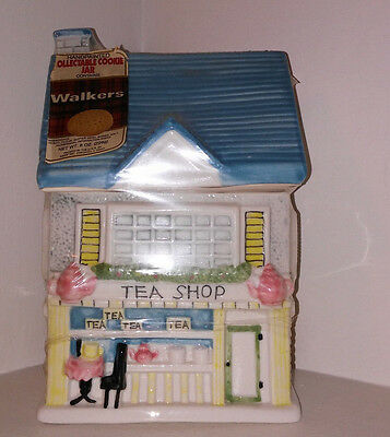 New-Vintage-Ceramic Cookie Jar-Tea Shop Decor Cookie Jar Kitchen Collection-L@@k