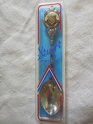 Stuart Silver Plated Spoon Henry Kendall High School Boxed
