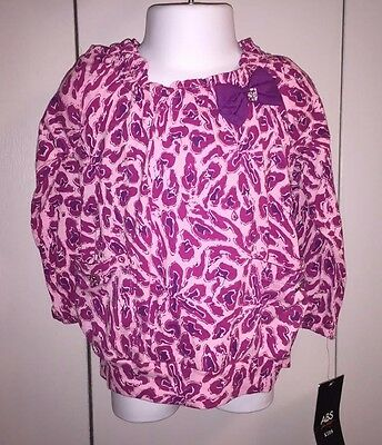 Infant/Toddler Girls (ABS Kids) Long Sleeve Banded Waist Top Size 12M - NWT'S!!