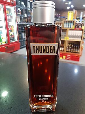 Thunder Toffee + Vodka