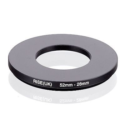 RISE(UK) 52-28  52-28mm  52mm-28mm  Step Down Ring Filter Camera Adapter