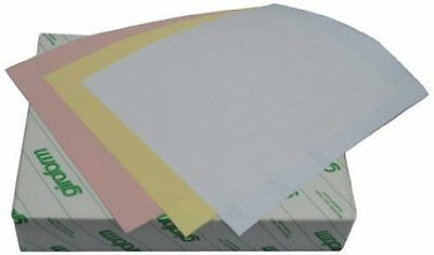 Carbonless Paper 3-Part Reverse 1 Ream, Pink, Canary, White 8 1/2 x 11