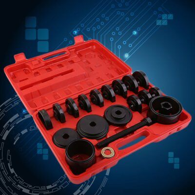 23pc FWD Front Wheel Drive Bearing Removal Adapter Puller Pulley Tool Kit/Case F