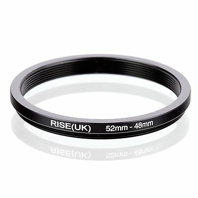 RISE(UK) 52-48mm  52mm-48mm Step Down Ring Filter Adapter  52-48