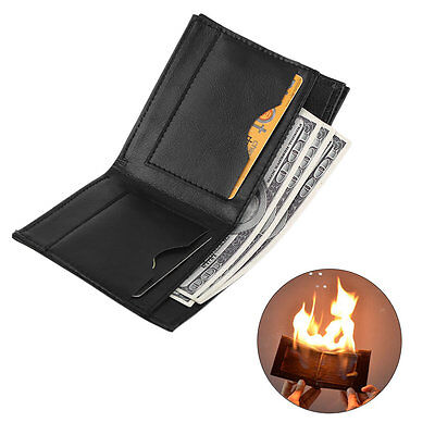 Magic Trick Flame Fire Wallet Magician Stage Street Show Storage Money Card MU