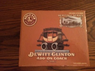 Lionel 11165 DeWitt Clinton Add-on Coach New in Box,