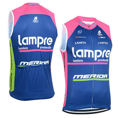 New Mens Cycling Vests Bike Racing Outfits Wear Riding Sleeveless Jersey Pockets