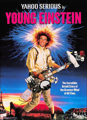 YOUNG EINSTEIN (Yahoo Serious)  - DVD - UK Compatible - sealed