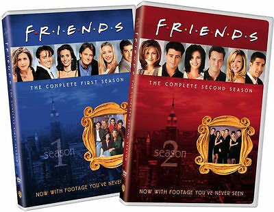 FRIENDS: THE COMPLETE FIRST & SECOND SEASONS (2PC) - DVD - Region 1