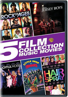 5 FILM COLLECTION: MUSIC MOVIES COLLECTION - DVD - Region 1