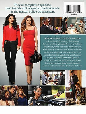 RIZZOLI & ISLES: COMPLETE SERIES (10PC) / (GIFT) - DVD - Region 1
