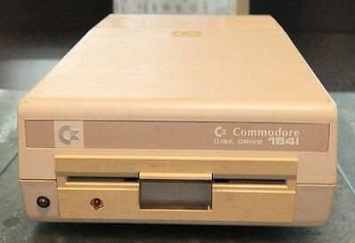 Commodore 1541 disk drive for the C64 Commodore 64 or VIC-20 vintage computer