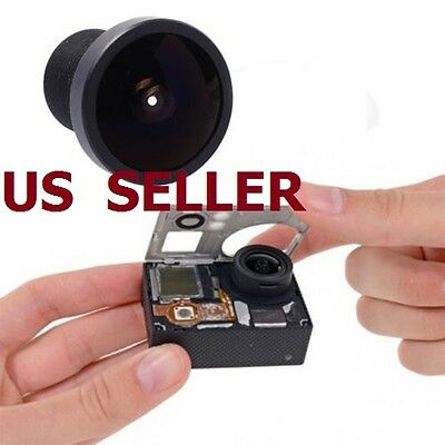US SHIP 170°Degree Wide Angle Replace Lens for Gopro Hero 3 2 1 SJ4000 Camera
