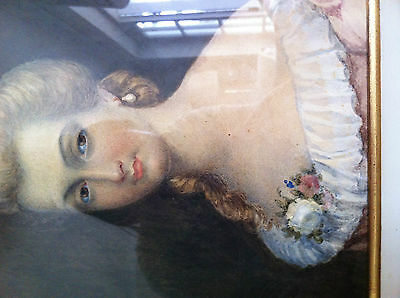 French portrait of a lady