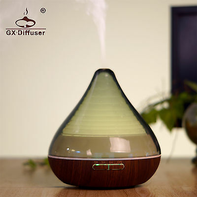 GX Diffusers LED Essential Diffuser Oil Ultrasonic Humidifier Air Aroma Diffuser