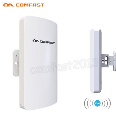 COMFAST Outdoor Mini CPE 2.4G 300M Wireless Access Point AP WiFi Repeater E110N