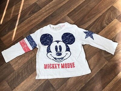 Baby Boys Long Sleeved Top From Zara 12-18m