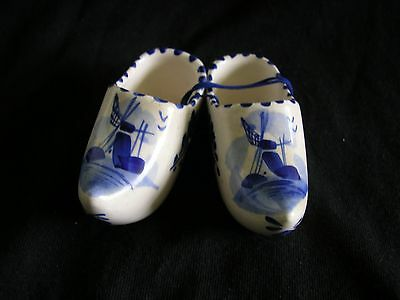 DELF hand painted  CLOGS - EXCELLENT