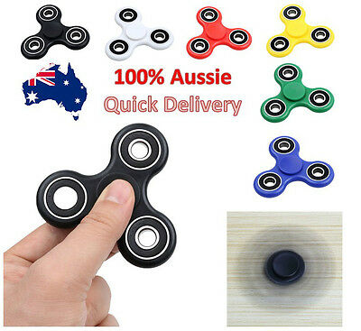 Fidget 3D Hand Finger Spinner EDC Focus Stress Reliever Toys For Kids Adults OO