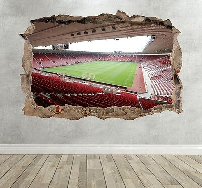 Southampton FC Stadium Premier League Kids Breakout Smashed Wall Sticker
