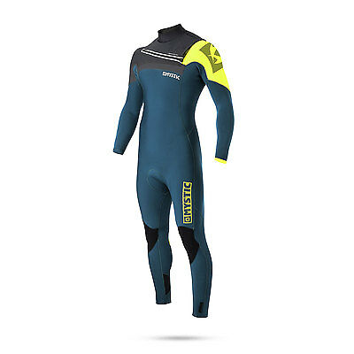 Mystic MAJESTIC 5/3 GBS Front Zip Wetsuit 2017 - Lime