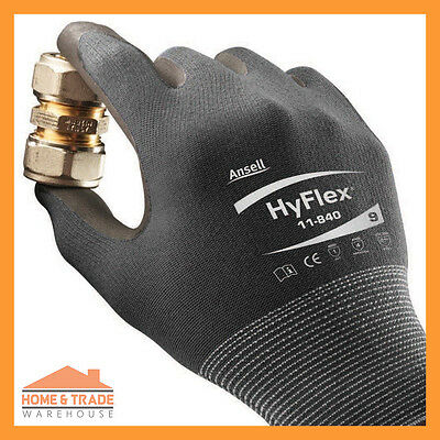Work Safety Gloves Ansell 11-840 General Purpose Longer Lasting More Durable