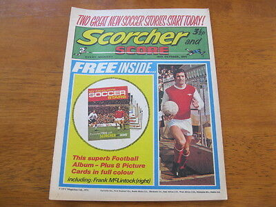 Scorcher and Score.. 16th Oct 1971.