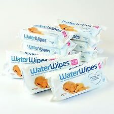 Waterwipes - Natural Chemical Free Baby Wipes (7 pack x 60)