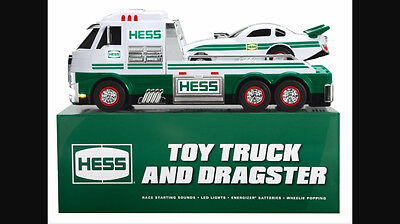 2016 Hess Toy Truck & Dragster, Brand New In Hess Shipping Carton, Fast Shipping