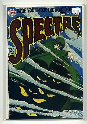 The Spectre #10 (DC, 1969) $45.00 8.0 VF OW/WHITE Pages DC SILVER-AGE Nick Cardy