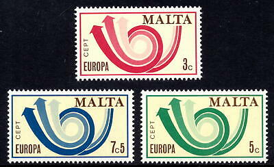 Malta 1973 Europa Complete Set SG 501 - 503 Unmounted Mint