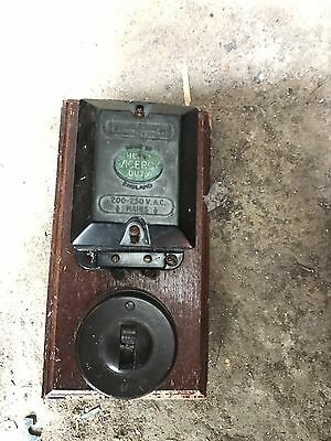 door bell transformer Antique