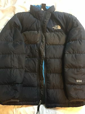 Boys THE NORTH FACE 550 Goose Down Puffer Jacket Youth Size 14/16