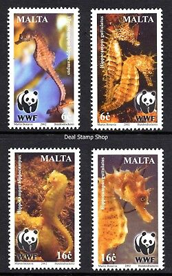 Malta 2002 Seahorses Endangered Species Complete Set SG 1243 - 6 Unmounted Mint